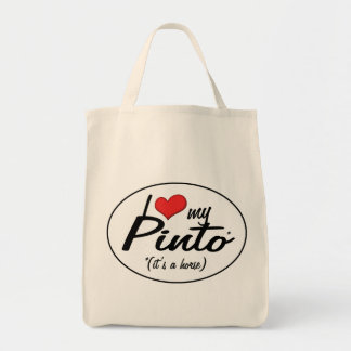 It's a Horse! I Love My Pinto Bag