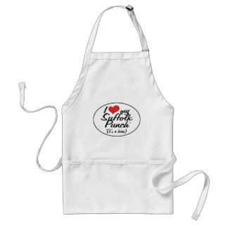 It's a Horse! I Love My Suffolk Punch Aprons