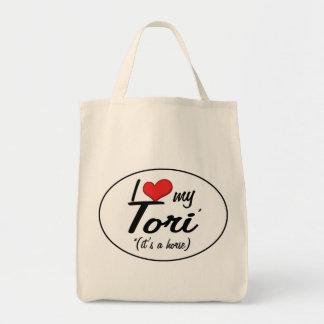 It's a Horse! I Love My Tori Tote Bag