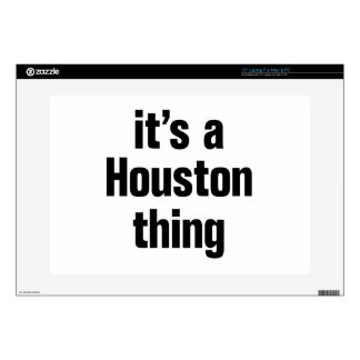 its a houston thing laptop skins