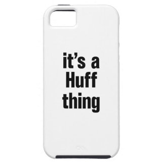 its a huff thing iPhone SE/5/5s case
