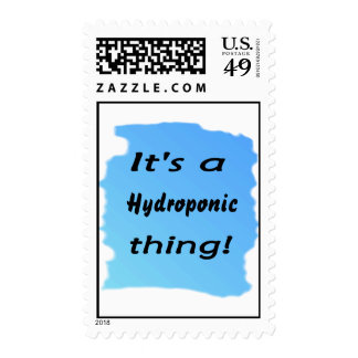 It's a hydroponic thing! stamp