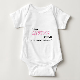 It's A JACKSON Thing! Baby Bodysuit
