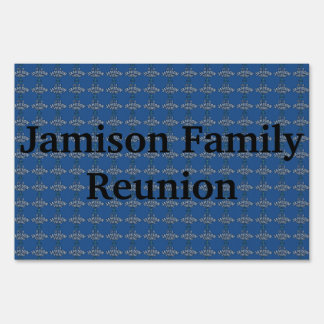It's A Jamison Thing Sign