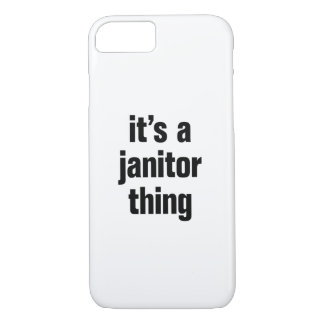 its a janitor thing iPhone 8/7 case