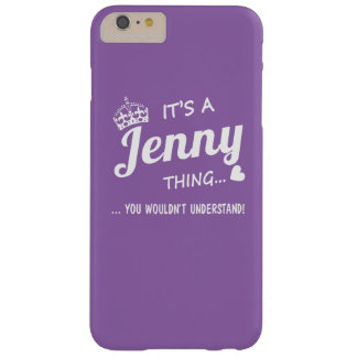 It's a Jenny thing Barely There iPhone 6 Plus Case