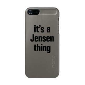 its a jensen thing incipio feather® shine iPhone 5 case