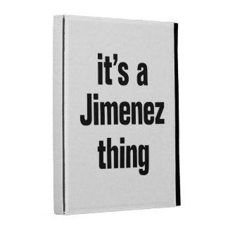 its a jimenez thing iPad folio cases