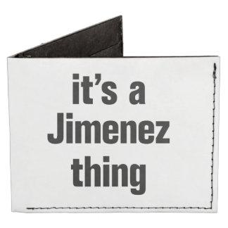 its a jimenez thing tyvek® billfold wallet