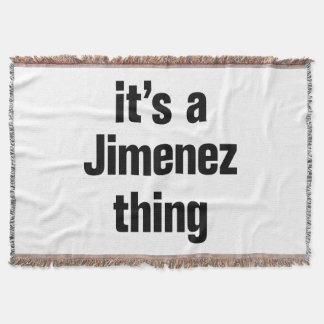 its a jimenez thing throw blanket