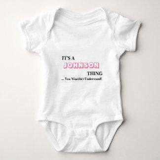 It's A JOHNSON Thing! Baby Bodysuit