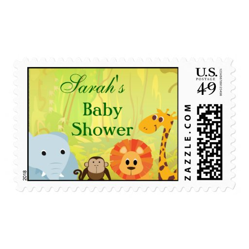 Amazing Baby Shower Custom Stamps