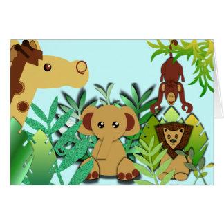 It's A Jungle Card