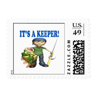 Its A Keeper Postage