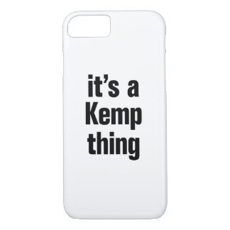 its a kemp thing iPhone 7 case