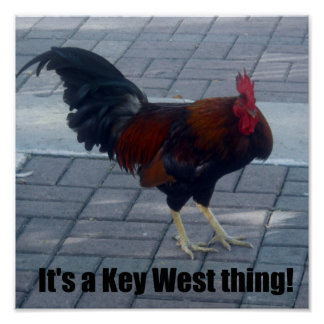 It's a Key West thing! Poster
