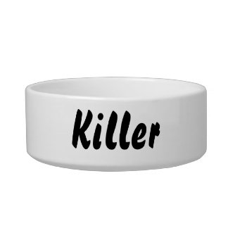 It's a killer thing! bowl