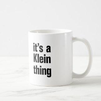 its a klein thing coffee mug