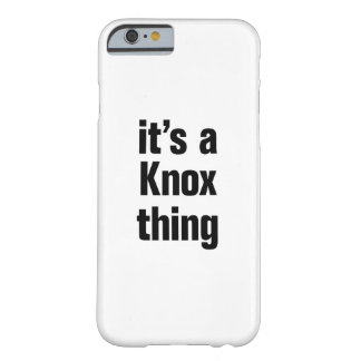 its a knox thing barely there iPhone 6 case