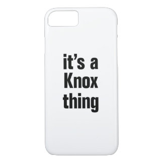 its a knox thing iPhone 8/7 case