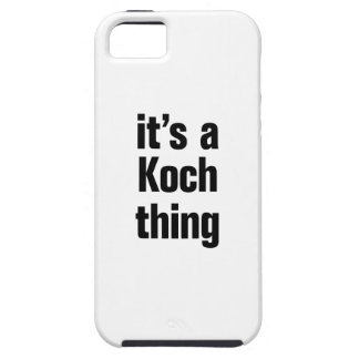 its a koch thing iPhone 5 cases