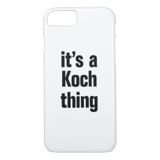 its a koch thing iPhone 8/7 case