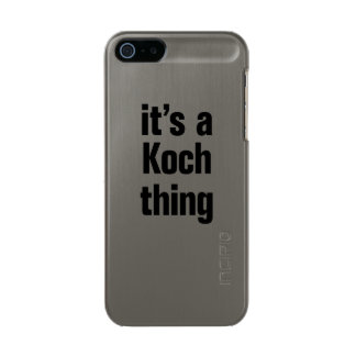 its a koch thing incipio feather® shine iPhone 5 case