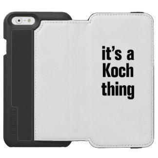 its a koch thing incipio watson™ iPhone 6 wallet case