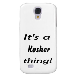 It's a kosher thing! samsung galaxy s4 cover