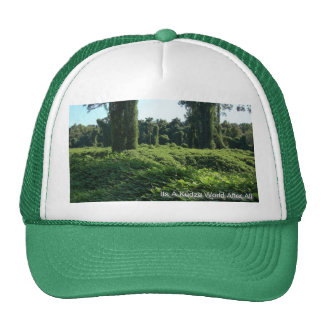 Its A Kudzu World After All Cap Trucker Hat