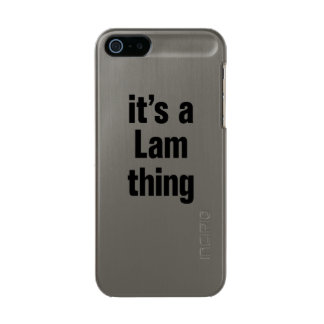 its a lam thing metallic phone case for iPhone SE/5/5s