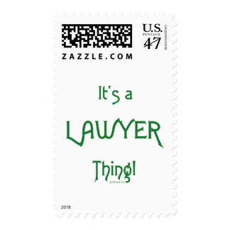 It's a Lawyer Thing! Postage