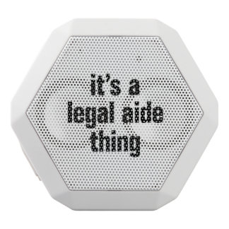 its a legal aide thing white boombot rex bluetooth speaker