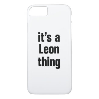its a leon thing iPhone 7 case