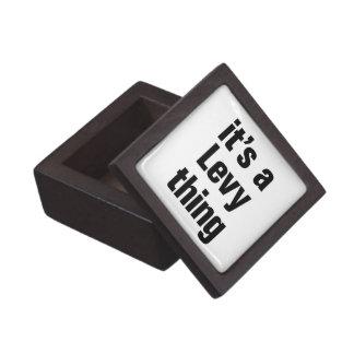 its a levy thing premium trinket box