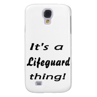 It's a lifeguard thing! samsung galaxy s4 covers