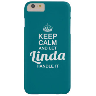 It's a Linda thing Barely There iPhone 6 Plus Case