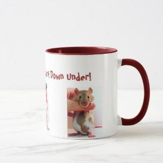 It's a little different Down Under Rattie Mug