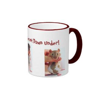 It's a little different Down Under Rattie Ringer Mug