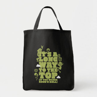 It's A Long Way To The Top (If You Want To Rock An Grocery Tote Bag