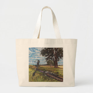 It's a lovely day... 2013 large tote bag