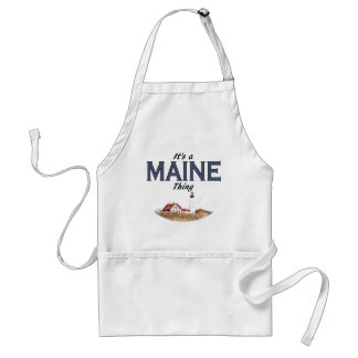 It's a Maine Thing - Lighthouse Adult Apron