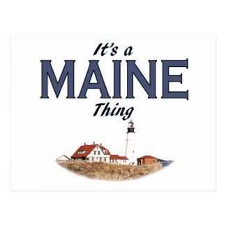 It's a Maine Thing - Lighthouse Postcard