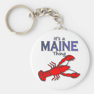 Its a Maine Thing - Lobster Key Chain