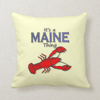 It's a Maine Thing - Lobster Pillow