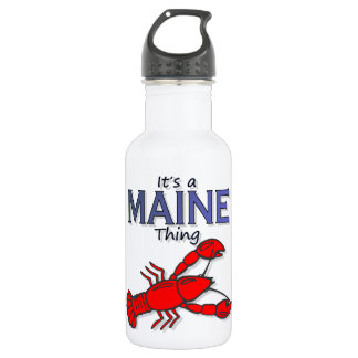 It's a Maine Thing - Lobster Water Bottle