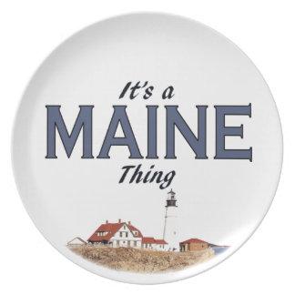 It's a Maine Thing - Portland Head Light Plate