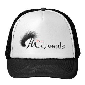 It's a Malamute Trucker Hat