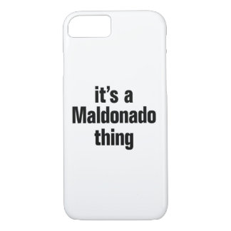 its a maldonado thing iPhone 8/7 case