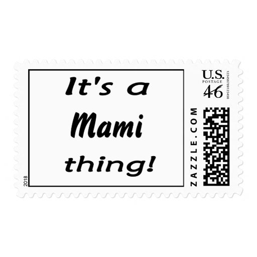 It's a mami thing! stamps